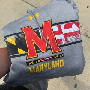 Maryland Under armor hoodie